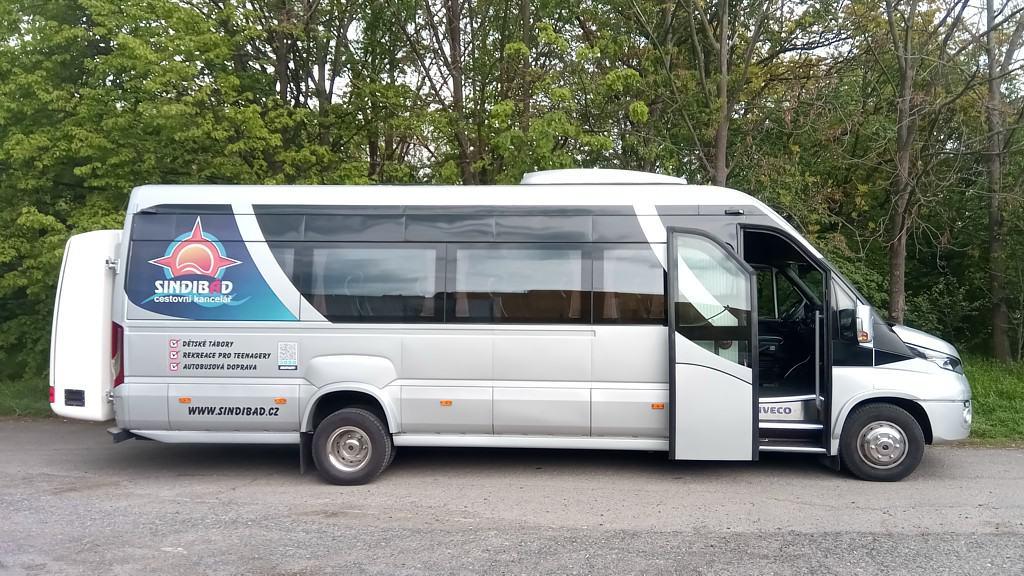 Autobusová doprava Iveco Cuby