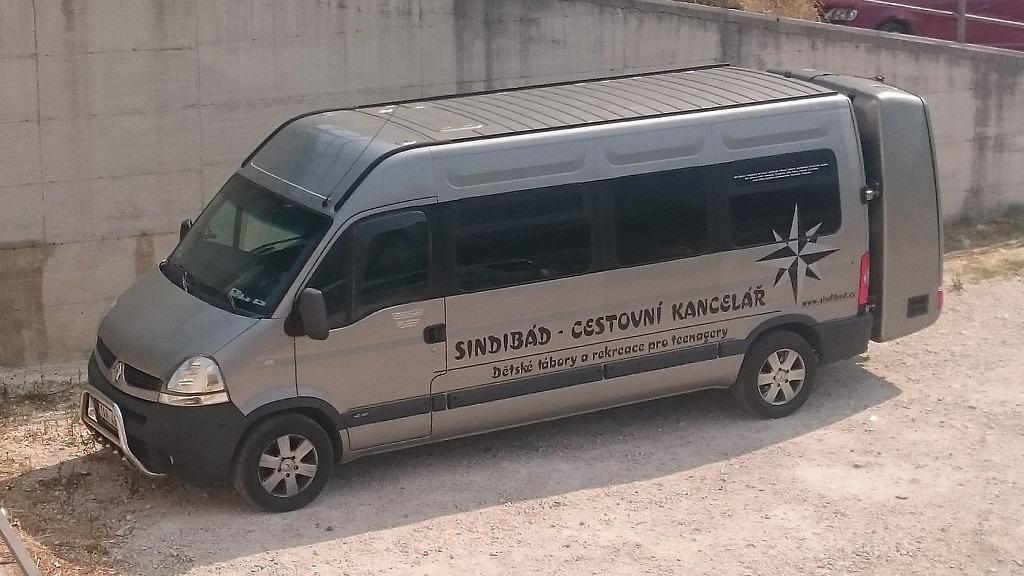 Autobusová doprava Renault Master